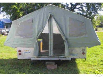 Canvas Cer Trailer Tent
