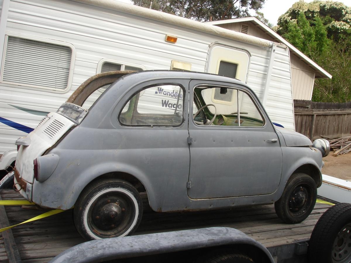Gerb, '58 Fiat 500