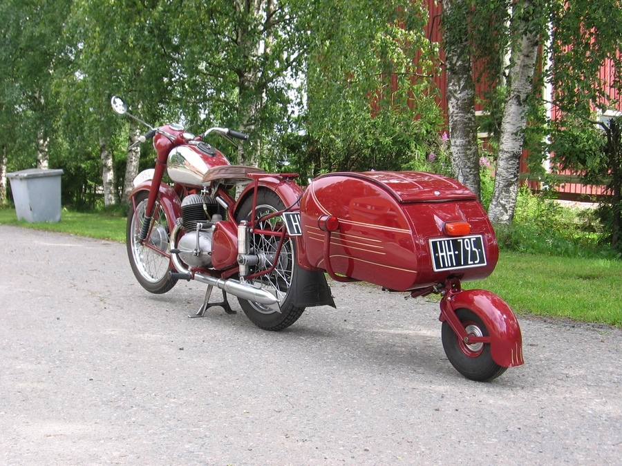 remorque moto mono roue courroie de transport. Black Bedroom Furniture Sets. Home Design Ideas
